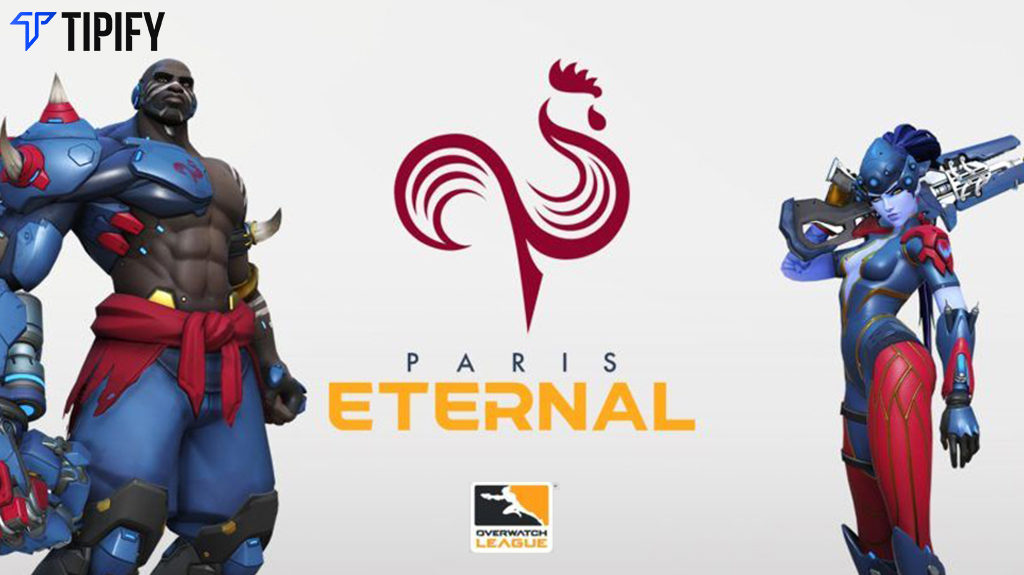 Expansion Team Paris Eternal Unveils Logo And Branding - Tipify