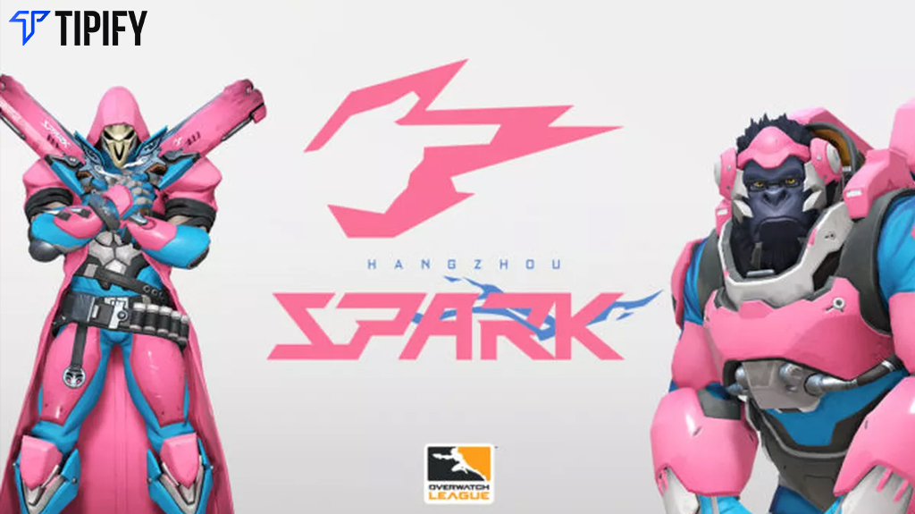 Expansion Team Hangzhou Spark Reveals Logo, Skins, Colors - Tipify