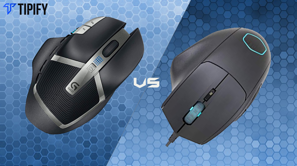 Logitech G602 vs Cooler Master MM520
