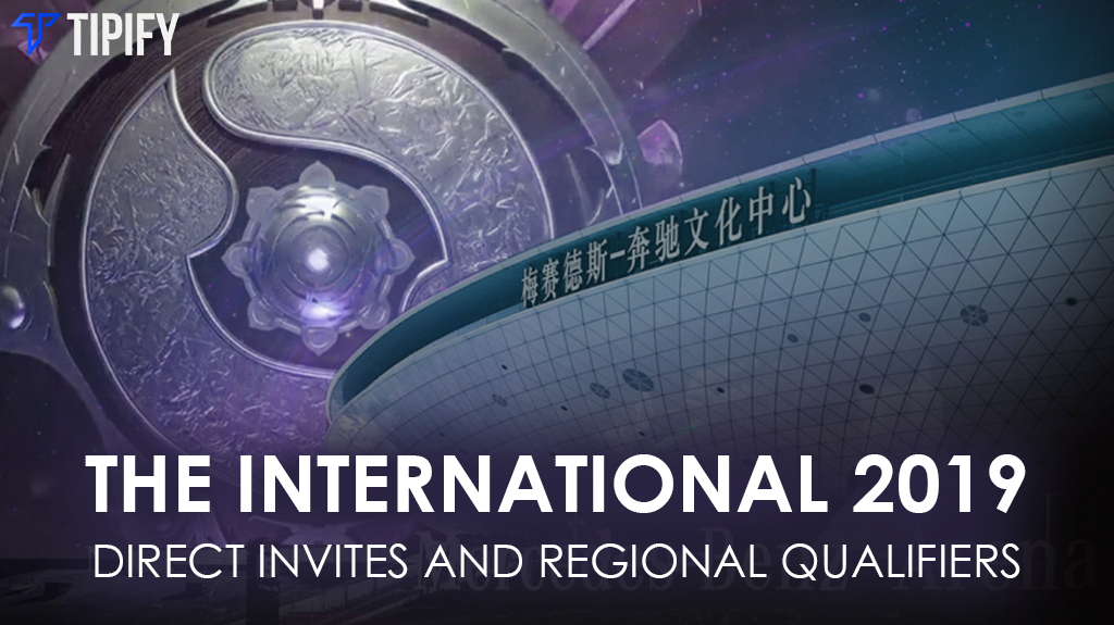 The International 9 Direct Invites And Regional Qualifiers - Tipify