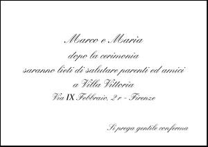 Galateo Matrimonio Cosa Come Scrivere Inviti Ricevimento