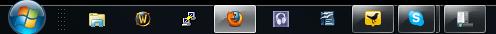 Kleine Symbole in Taskleiste von Windows 7