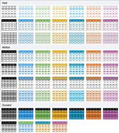 Excel 2010 Tabellenformatierung