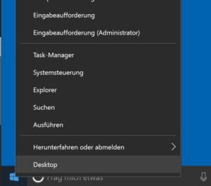Windows Kommandozeile als Admin starten