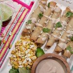 Crockpot Chipotle Chicken Taquitos