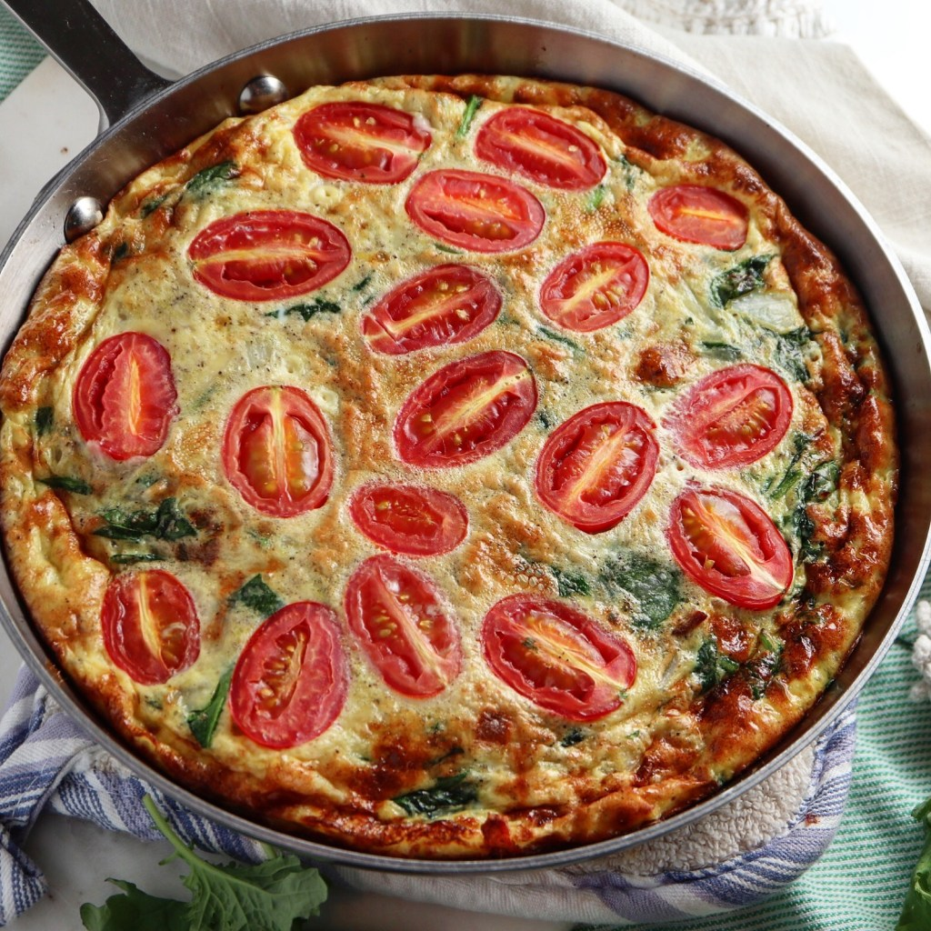 Bacon & Spinach Frittata