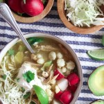 Hatch Green Chile Chicken Posole