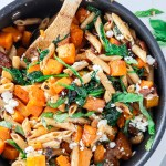 Roasted Butternut Squash & Goat Cheese Penne