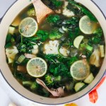 Lemon Chicken Detox Soup