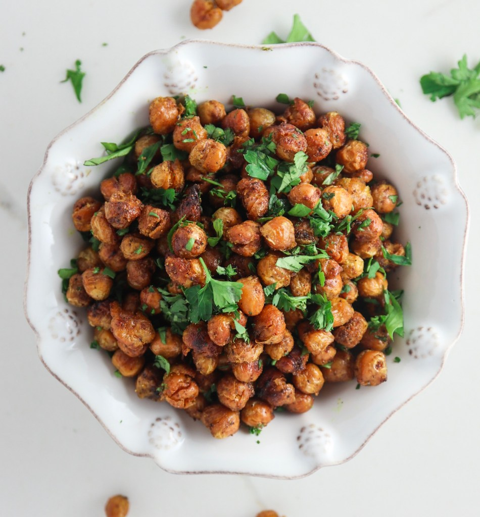 Turmeric Roasted Chickpeas