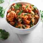 Sesame Sriracha Roasted Cauliflower