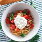 Roasted Tomato Angel Hair Pasta