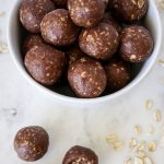 No Bake Fudge Cookie Energy Bites