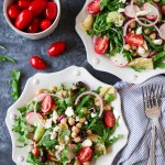 Chopped Mediterranean Chickpea Salad