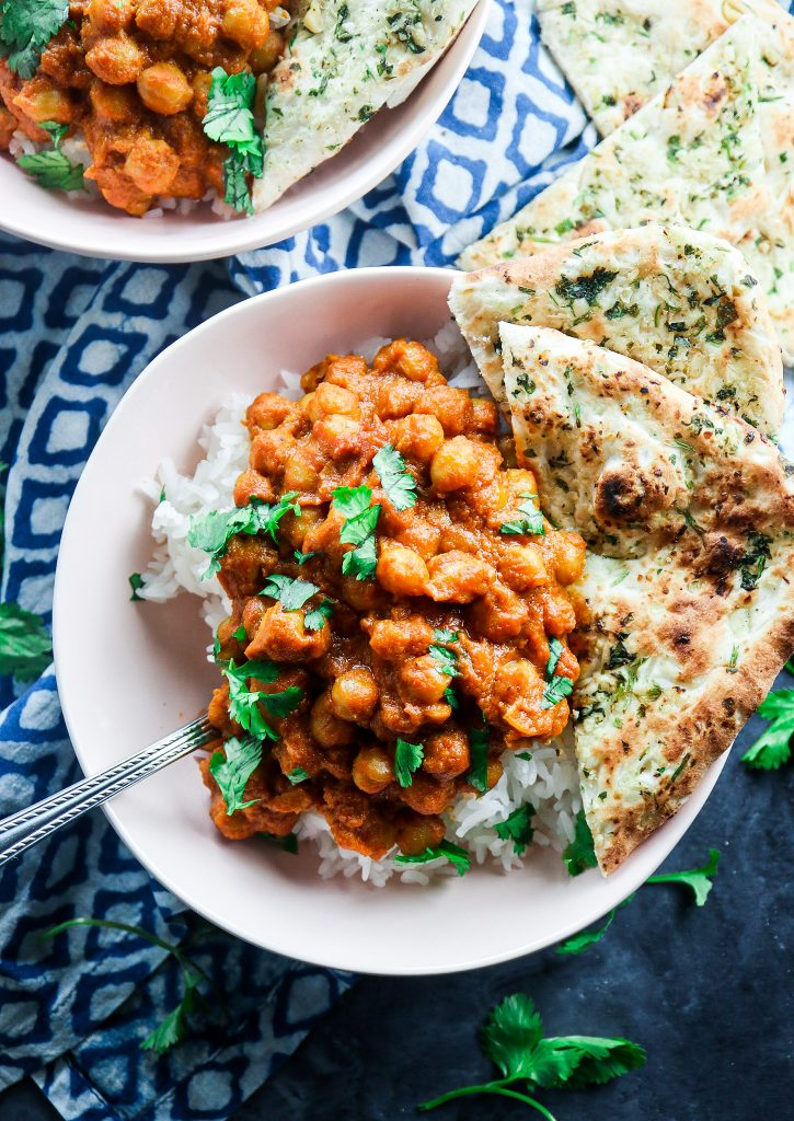 Instant Pot Red Curry Chickpeas
