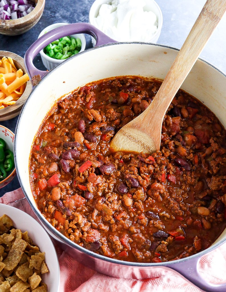 The Best and Easiest Traditional Chili Recipe