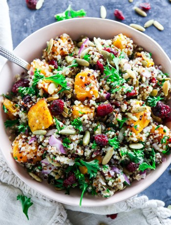 The Best Autumn Quinoa Salad