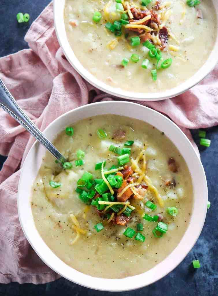 Easy Loaded Baked Potato Soup