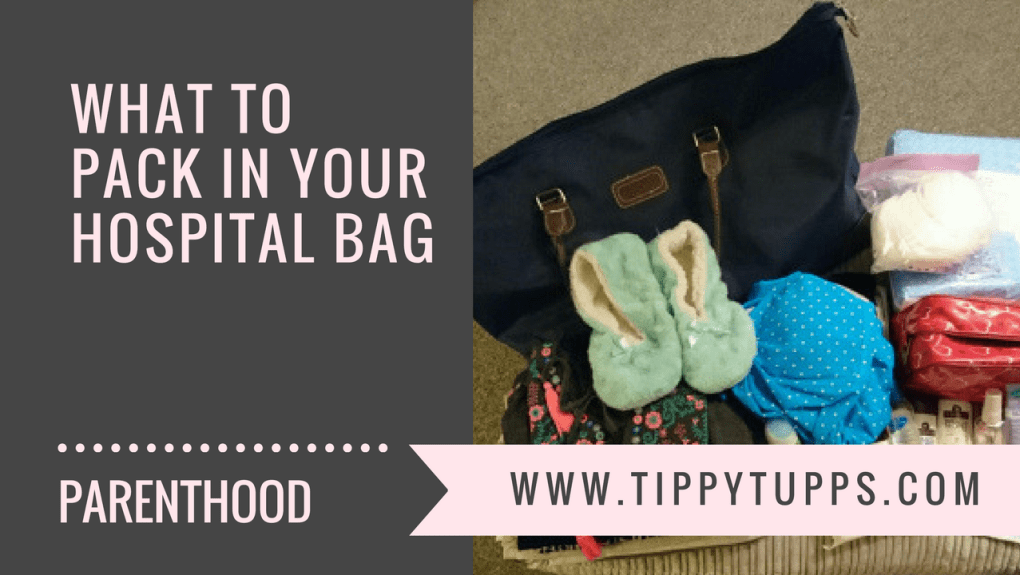 What to pack in your hospital bag - blog header image