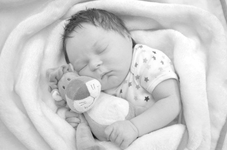 sleep deprivation - sleeping baby