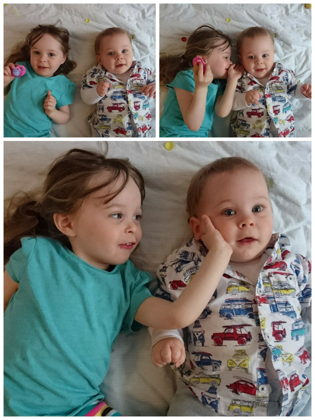 Sibling Love for this weeks Living Arrows post