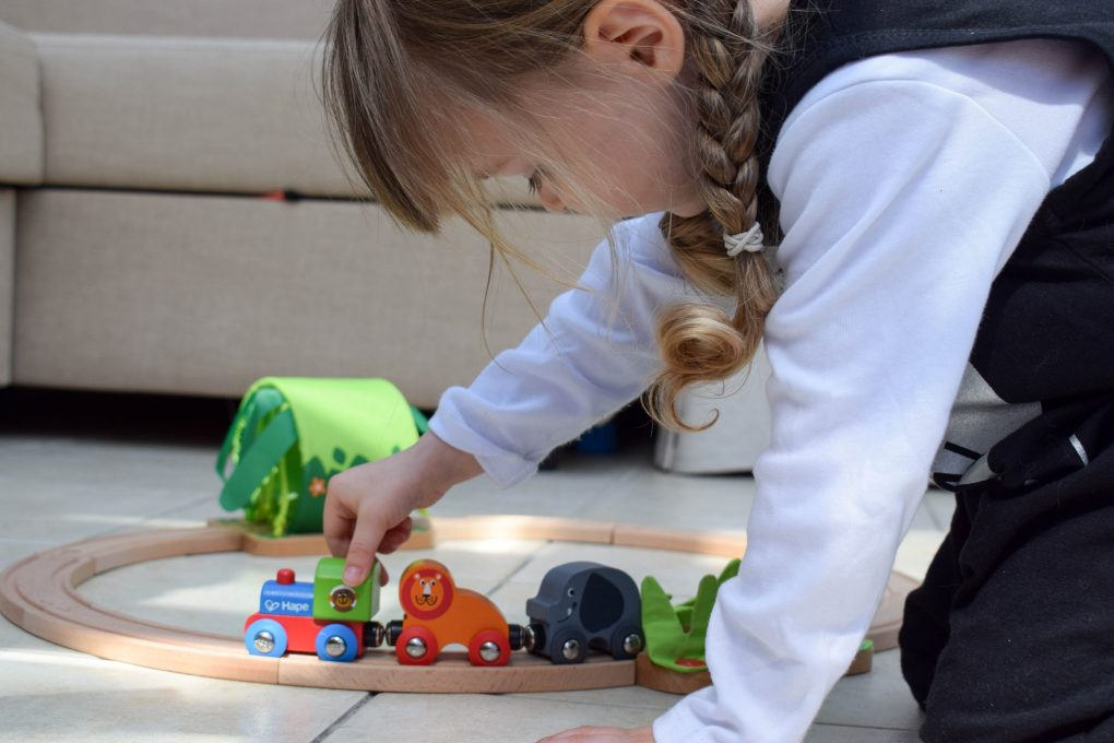 Hape train review playtime