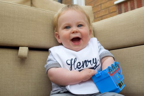 bib product review - a handsome little man