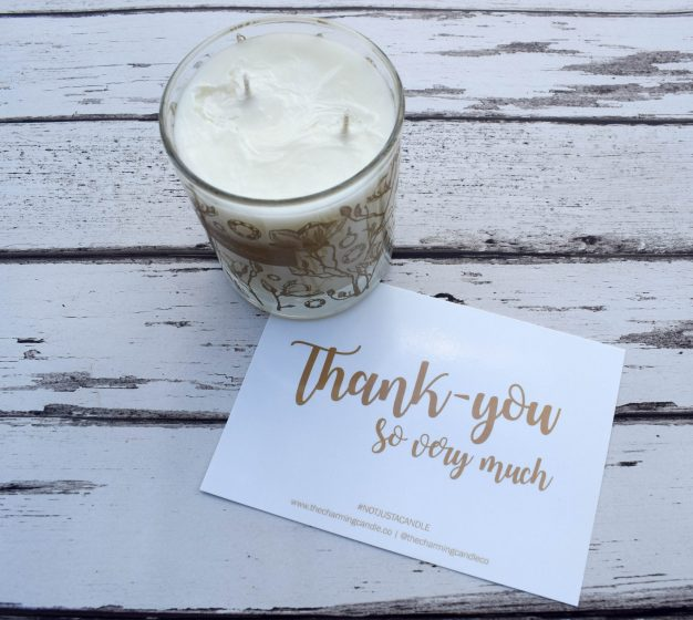 the charming candle company - thank you