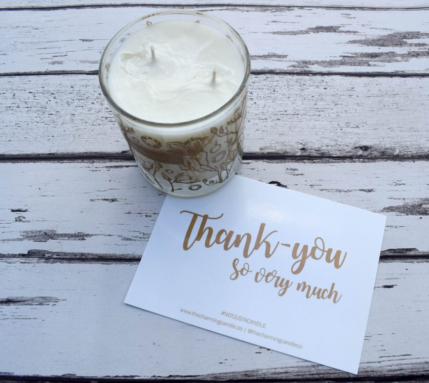 Product Review – The Charming Candle Co