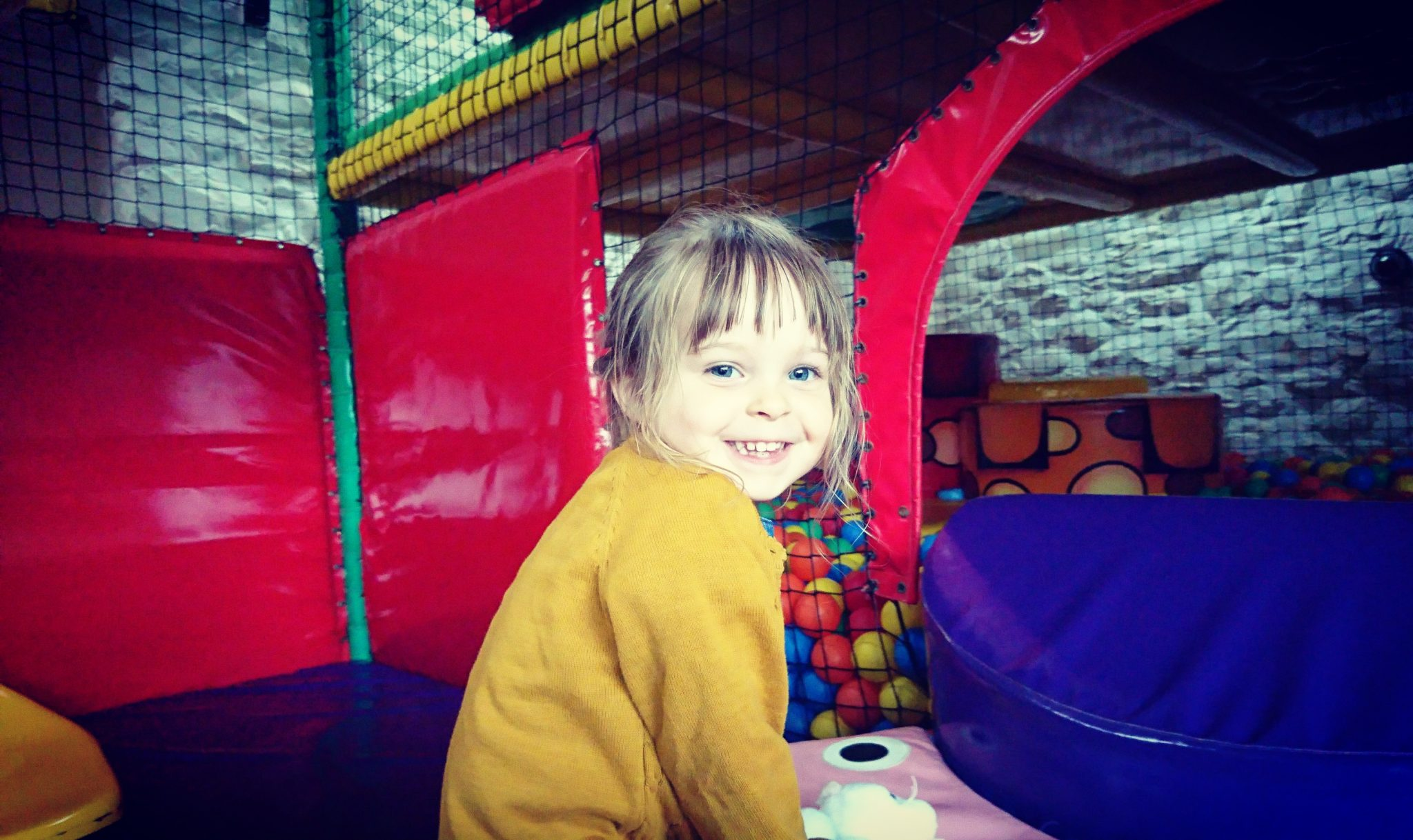 camping with kids - soft play