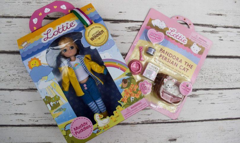 Muddy Puddles Lottie Doll & Pandora the Persian Cat