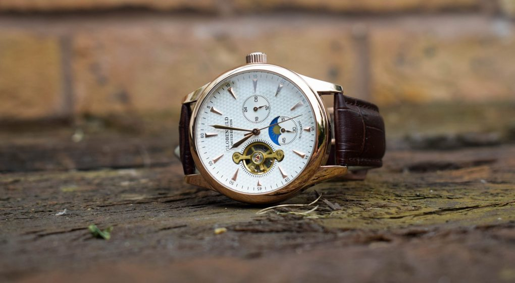 Globenfeld Limited Edition Antique Rose Men's Automatic Watch - a beautiful watch