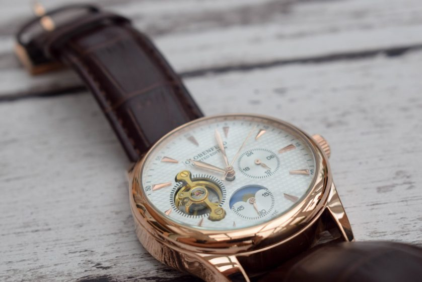 Product Review – Globenfeld Limited Edition Antique Rose Men's Automatic Watch