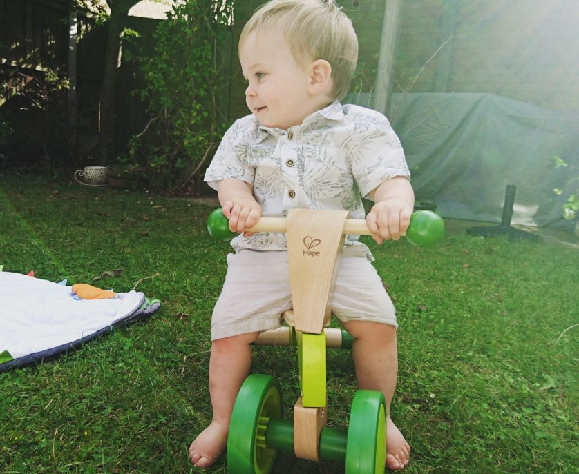 Product Review – Hape Scoot Around Wooden Rider