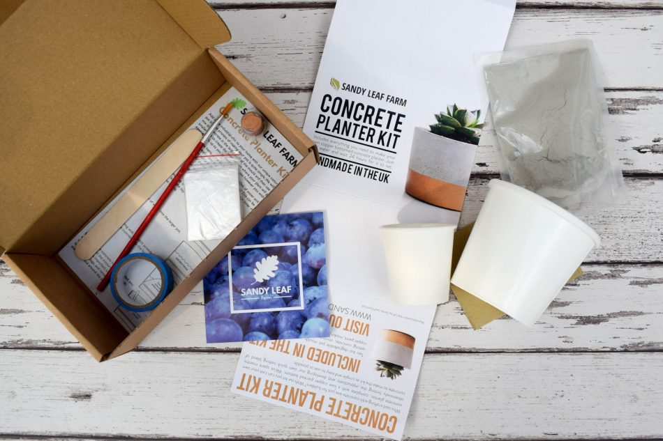 concrete planter kit - what's in it