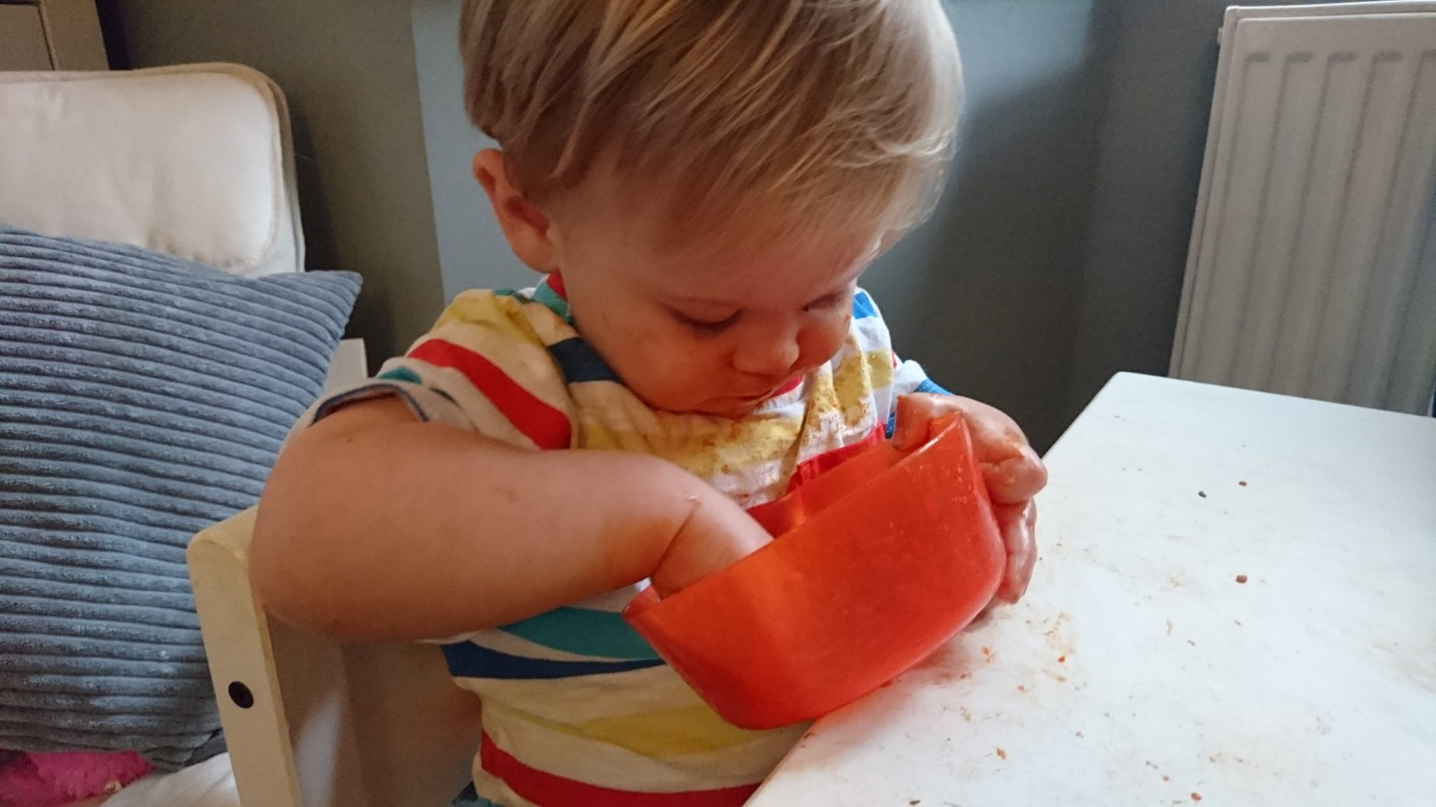 HELP! My toddler is a fussy eater - tucking in