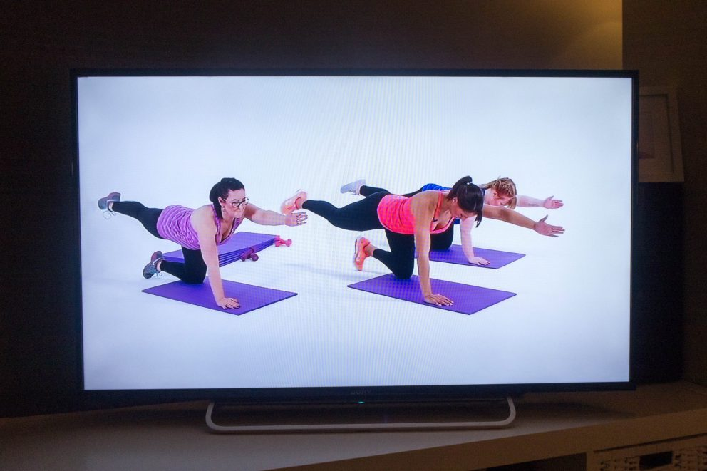 OneFitMama - workout DVD - the workout in action