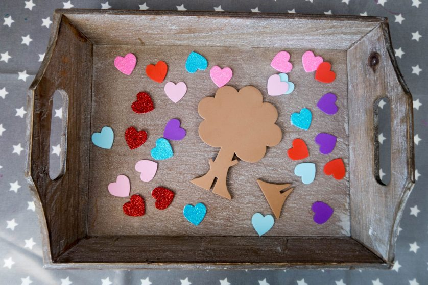 Handmade Mother's Day – Love Heart Trees