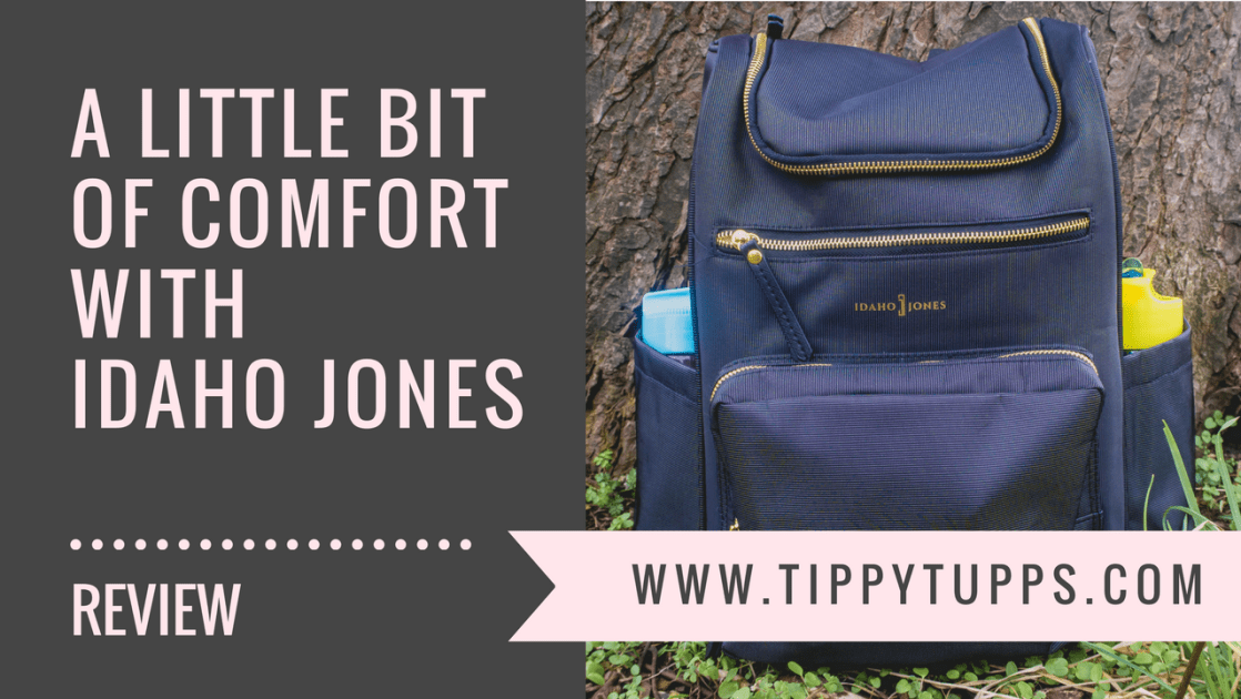 Idaho Jones Gallivant - backpack changing bag review - blog post header