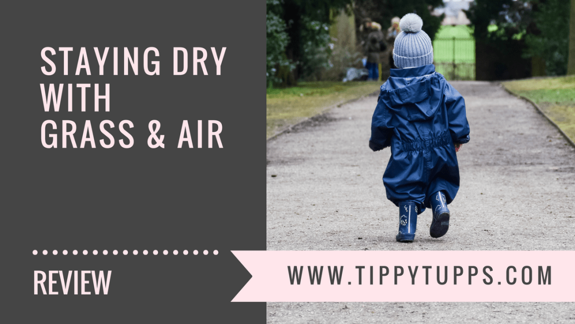 Staying Dry with Grass & Air - product review - blog header image