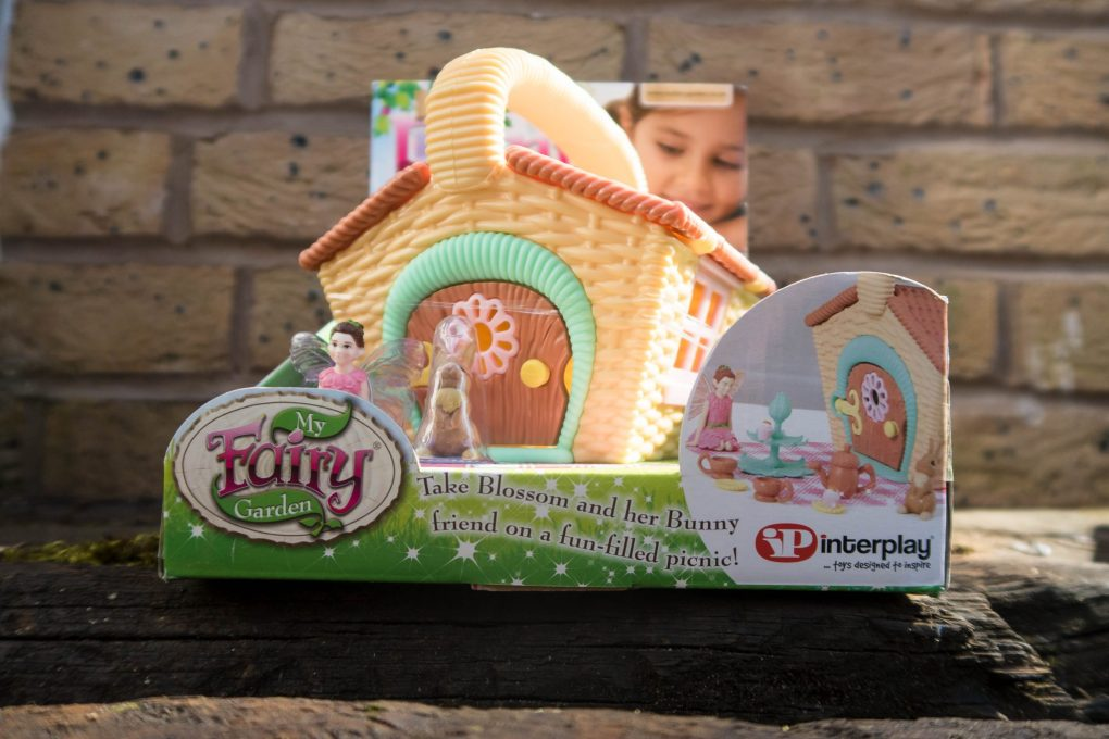 Just Add Fairy Dust with My Fairy Garden - the fairy picnic basket