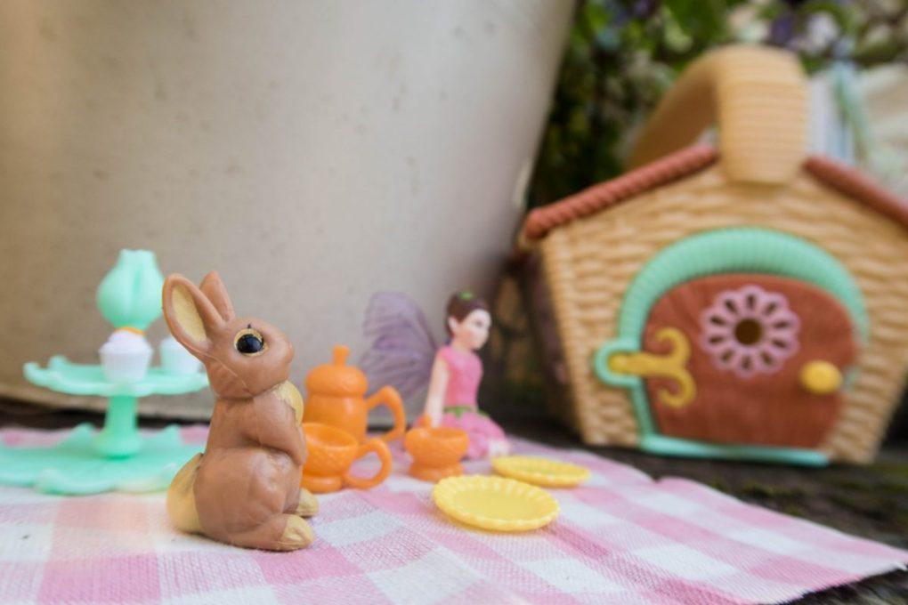 Just Add Fairy Dust with My Fairy Garden - a little bunny friend