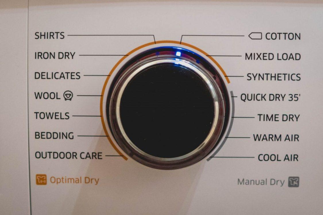Samsung Heat Pump Tumble Dryer - close up