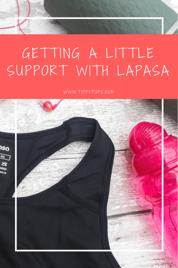 Product review - the Lapasa Women's Sports Bra. Comfort and support for sportswear. In Lapasa I am confident that I have found a sports bra that can support me as I start the journey to reclaiming my body after childbirth.
