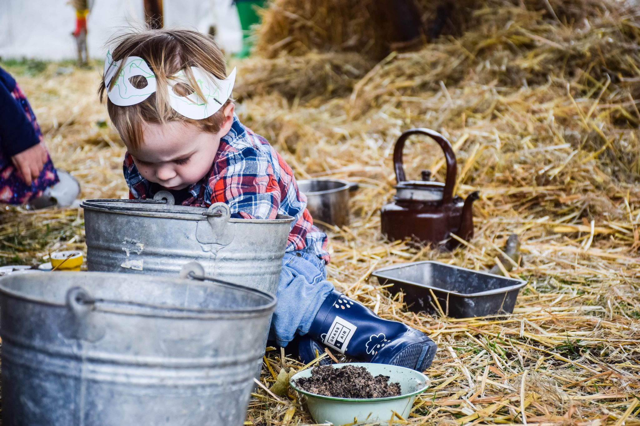 The Good Life Experience - the mud kitchen