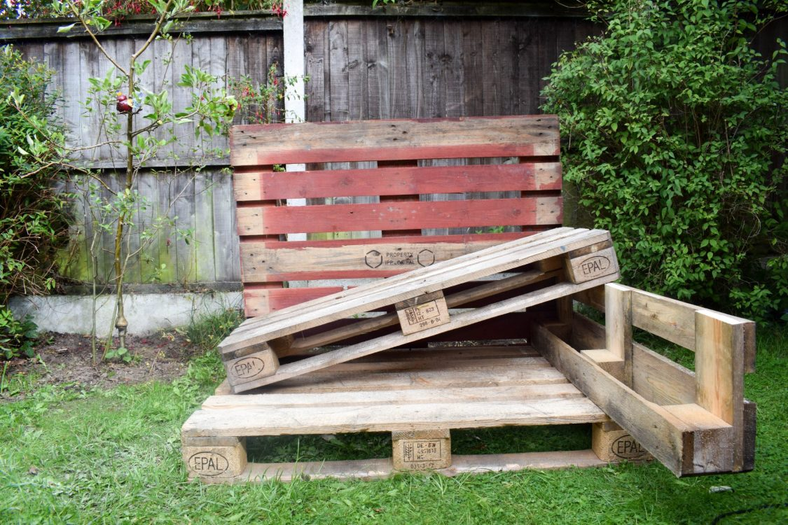 How To Make a Mud Kitchen - getting started