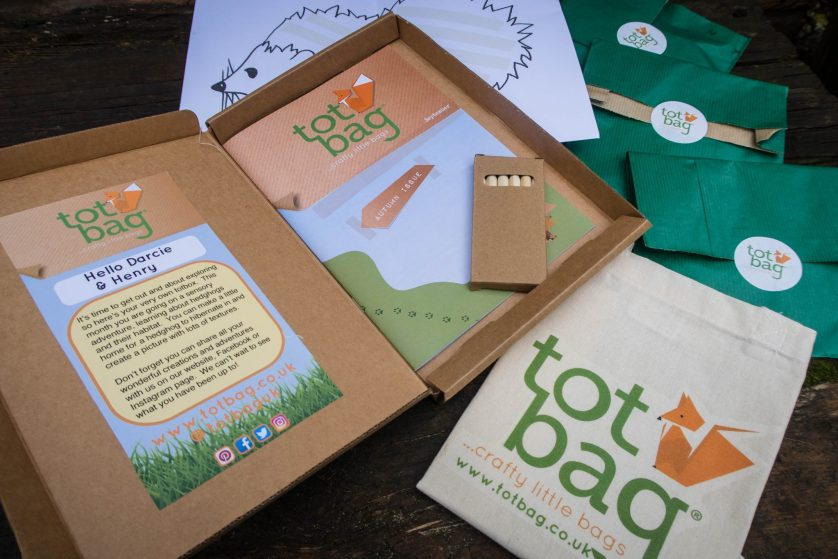 totbag….the crafty little bag (review & giveaway)