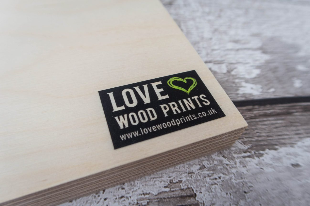 Love Wood Prints