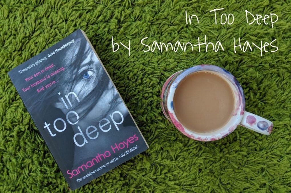 In Too Deep by Samantha Hayes - blog post header