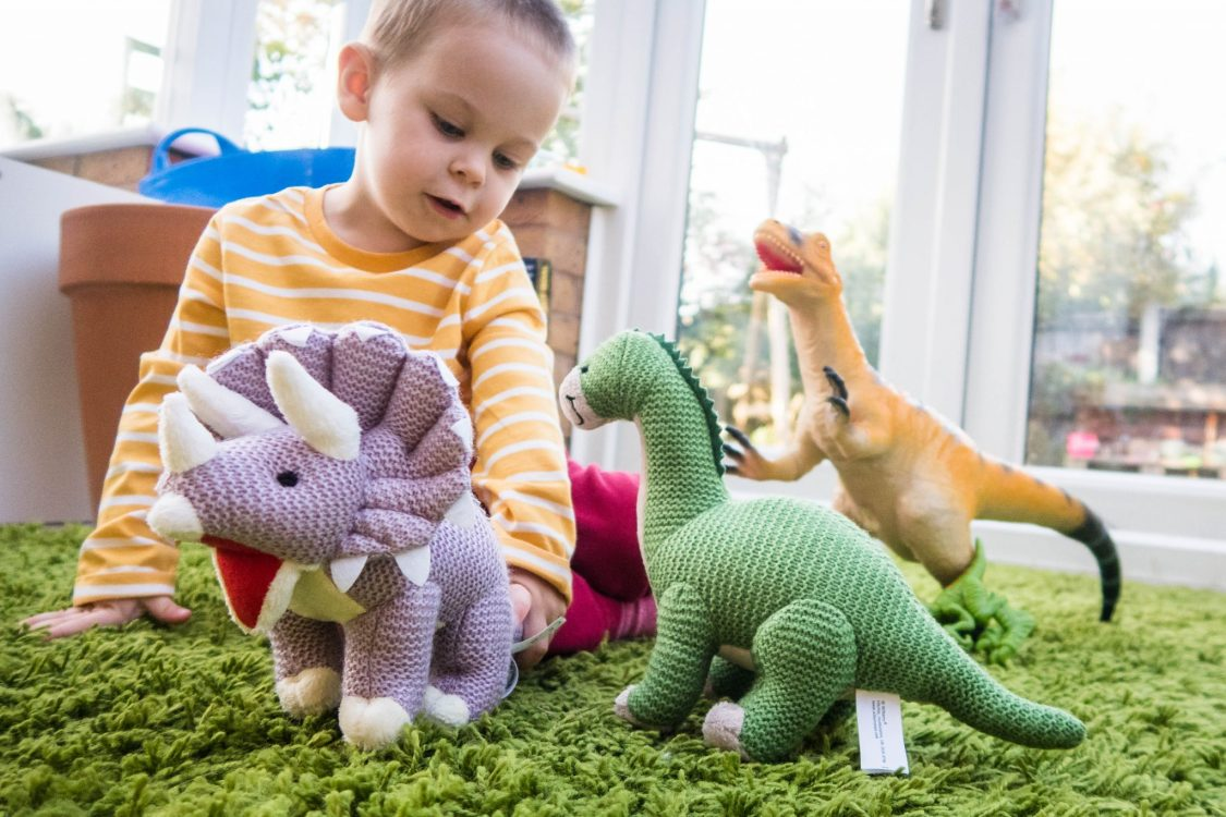 The Wonderful World of Wilberry - dinosaurs in play